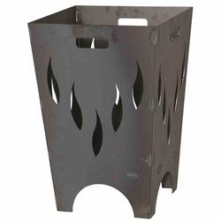 SIENA GARDEN Feuerkorb FLAMIA, Stahl anthrazit LxBxH:51x51x60cm