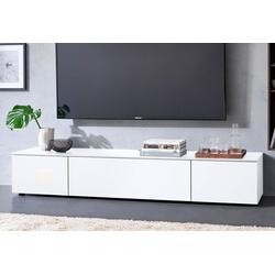 SPECTRAL Lowboard Select, wahlweise mit TV-Halterung, Breite 200 cm weiß