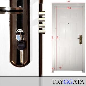 Sicherheitstür Haustür Wohnungstür Stahltür Wohnungstür rechter Anschlag NEU