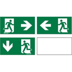 ESYLUX EN10061066 Piktogramm Notausgang links, Notausgang rechts, Notausgang unten