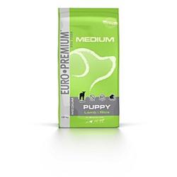 Euro Premium Medium Puppy Lamm & Reis Hundefutter 2 x 3 kg