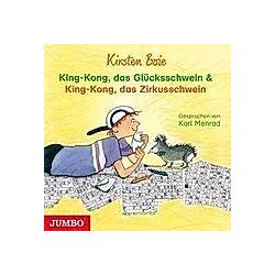 King-Kong  das Glücksschwein & King-Kong  das Zirkusschwein  1 Audio-CD - Hörbuch