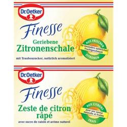 Dr. Oetker Geriebene Zitronenschale 2 x 6 g