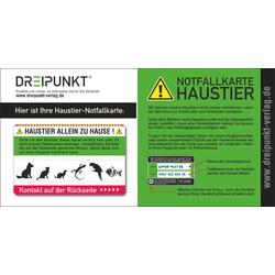 Notfallkarte 'Haustier'
