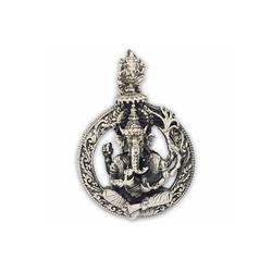 KUNST UND MAGIE Amulett Lord Ganesha Anhänger Amulett Silber 925