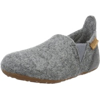bisgaard Jungen Wool Sailor Slipper, Grau (70 Grey), 29 EU