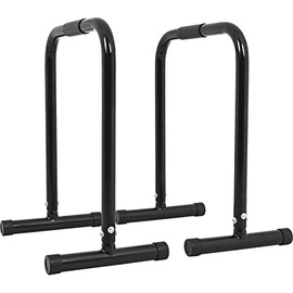 Gorilla Sports Push-up Stand Bar Parallettes schwarz