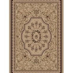 Bordürenteppich Marrakesh - Florals - (Beige)