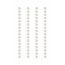 Rico Design Paper Poetry Perlen-Sticker selbstklebend 5mm à 7x15 cm