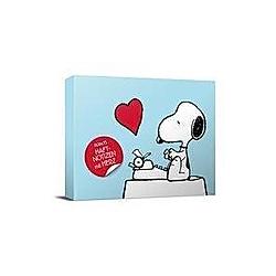 Peanuts Haftnotizen mit Herz