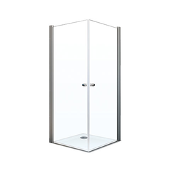 Breuer® Dusche »Elana 6«, Eckeinstieg mit Drehtür, 2-türig, 90 x 90 cm
