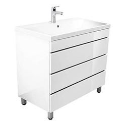 POSSEIK Waschtischunterschrank FELINI 90 weiß