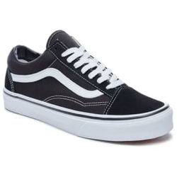 Vans - Old Skool Black/White - Sneakers - Größe: 9,5