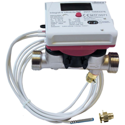 Allmess Kompaktwärmezähler 561423001706HA mit Direktmessungsadapter, qp 1,5-5,2 mm HA