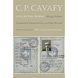 C. P. Cavafy. C. Cavafy  - Buch