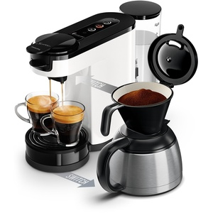 Philips Senseo Switch 2in1-Kaffeemaschine Senseo Switch Blanche