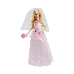 Mattel® Anziehpuppe Barbie Braut Puppe (blond), Anziehpuppe, Barbie
