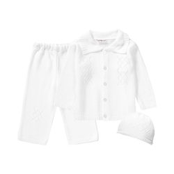 HOBEA-Germany Anzug HOBEA Set Baby Taufanzug Noah + Mütze für Jungen 74