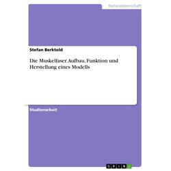 Die Muskelfaser. Aufbau Funktion und Herstellung eines Modells: eBook von Stefan Berktold