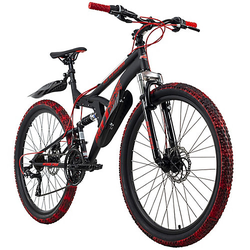Mountainbike Fully 26 Zoll Bliss Pro Mountainbikes Rahmenhöhe: 46 cm schwarz