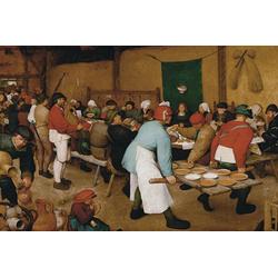 Piatnik Puzzle Bruegel d.Ä., Bauernhochzeit, 1000 Puzzleteile