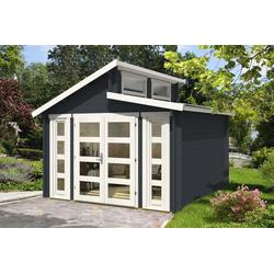 Doppel-Pultdach Gartenhaus Modell Vinea-40, ohne Imprägnierung