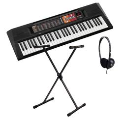 Yamaha PSR-F51 Keyboard Set inkl. Keyboardständer + Kopfhörer