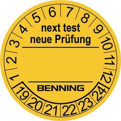 Benning 1 St. Gelb (Ø) 30mm
