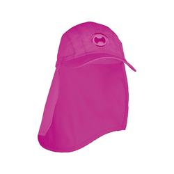 hyphen Sonnenhut Kinder UV-Schutz Sonnenhut mit Nackenschutz rosa 46-48