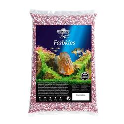 Dehner Aquarienkies Aqua Premium Farbkies, Körnung 2-3 mm, 5 kg rot