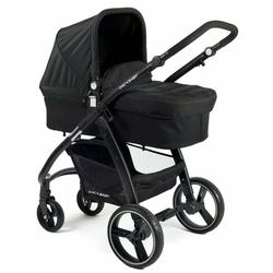 CHIC4BABY Kombi-Kinderwagen Volare, schwarz, inklusive Sportsitz; Kinderwagen
