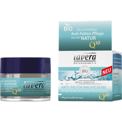 LAVERA basis sensitiv Nachtcreme Q10 dt 50 ml