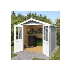 Outdoor Life Products Gartenhaus Morava A, BxT: 251x262 cm grau