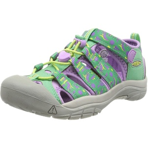 KEEN Newport H2 Sandal, Katydid/African Violet, 24 EU