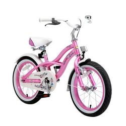 bikestar Premium Sicherheits Kinderfahrrad 16 Cruiser Pink