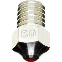 3D Solex Everlast 0.80mm Düse Passend für: Ultimaker 2+ 3D Solex UM2+ Everlast 0.80 Nozzle