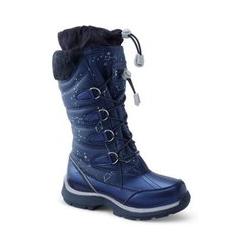 Schneestiefel Schneeflocke - 32 - Blau