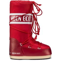 Moon Boot - Moon Boot Nylon Rot - Après-ski - Größe: 31/34