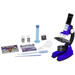 37601233 Mikroskopset im Koffer 48tlg. Mikroskopie Experimentier-Set ab 8 Jahre