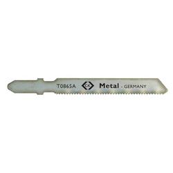 C.K. Stichsägeblatt HSS, für Metall, fein, 5 St. auf Karte T0865A 1St.