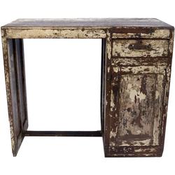 Guru-Shop Schreibtisch Antiker vintage Schreibtisch mit Patina, 1..