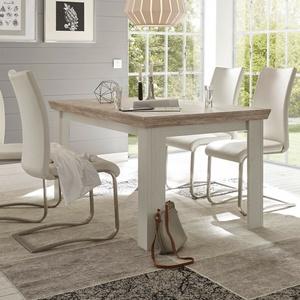 Esstisch Florenz Küchentisch Tisch Esszimmertisch In Oslo Pinie Weiß 160x90 Cm