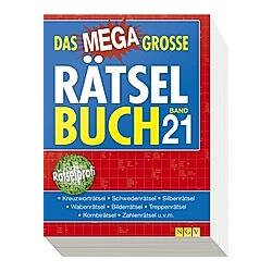 Das megagroße Rätselbuch - Buch