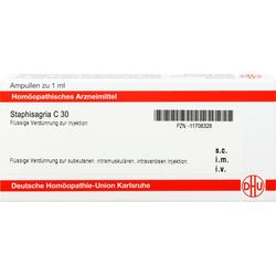 STAPHISAGRIA C 30 Ampullen 8 ml