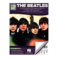 Super Easy Songbook  for piano/Keyboard/organ. The Beatles  - Buch