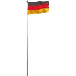 Fahnenmast inkl. Deutschlandfahne