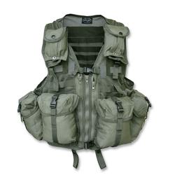 Tactical Weste Mod. System m. Taschen oliv