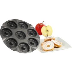 Apfelküchli-Blech, schwarz - schwarz