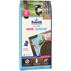 Bosch Petfood Trockenfutter Mini Junior, 15 kg