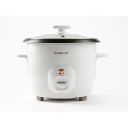 Domo Reiskocher, 536 W, Sushi Reis Kochautomat & Gemüse-Dampfgarer Schnell-Kocher Topf, Dampfkocher